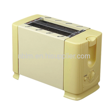 Bread Toaster with Metal wall 2 slice toaster