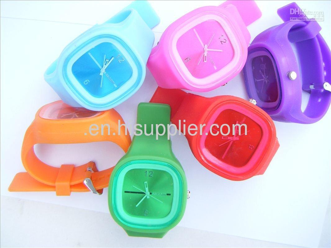Digital Watches ODM Designer fashion silicon watch