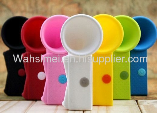 New Designed Fashional Mini For Iphone Silicone Speaker