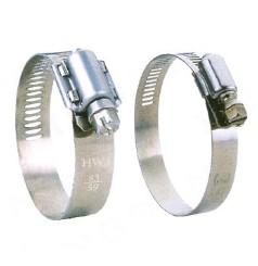 Galvanized iron european type hose clamp