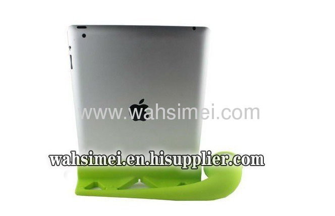High quality silicone ipad horn for standing speaker loudly