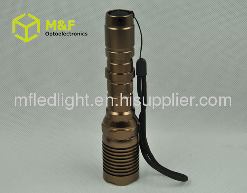 cree q5 aluminum led flashlight 18650 torch light
