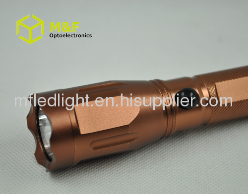 Rechargeable cree q5 led flashlight