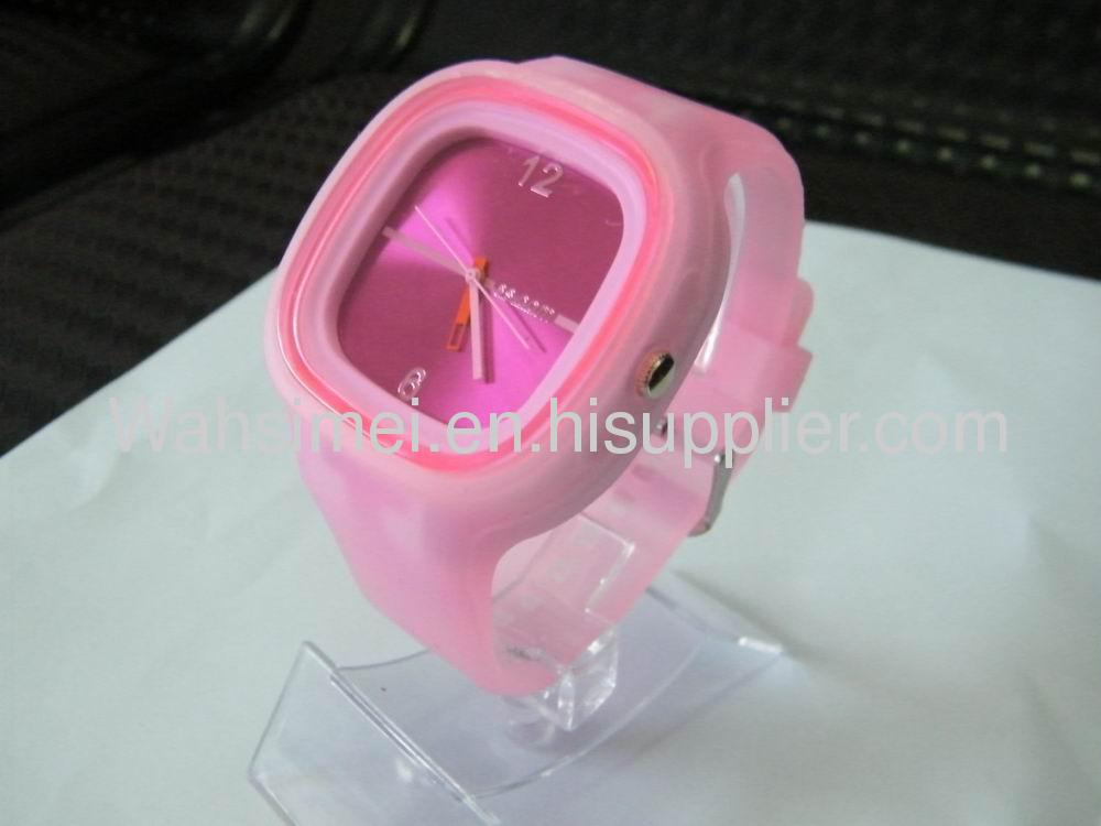 Silicon watches as best promotional gift