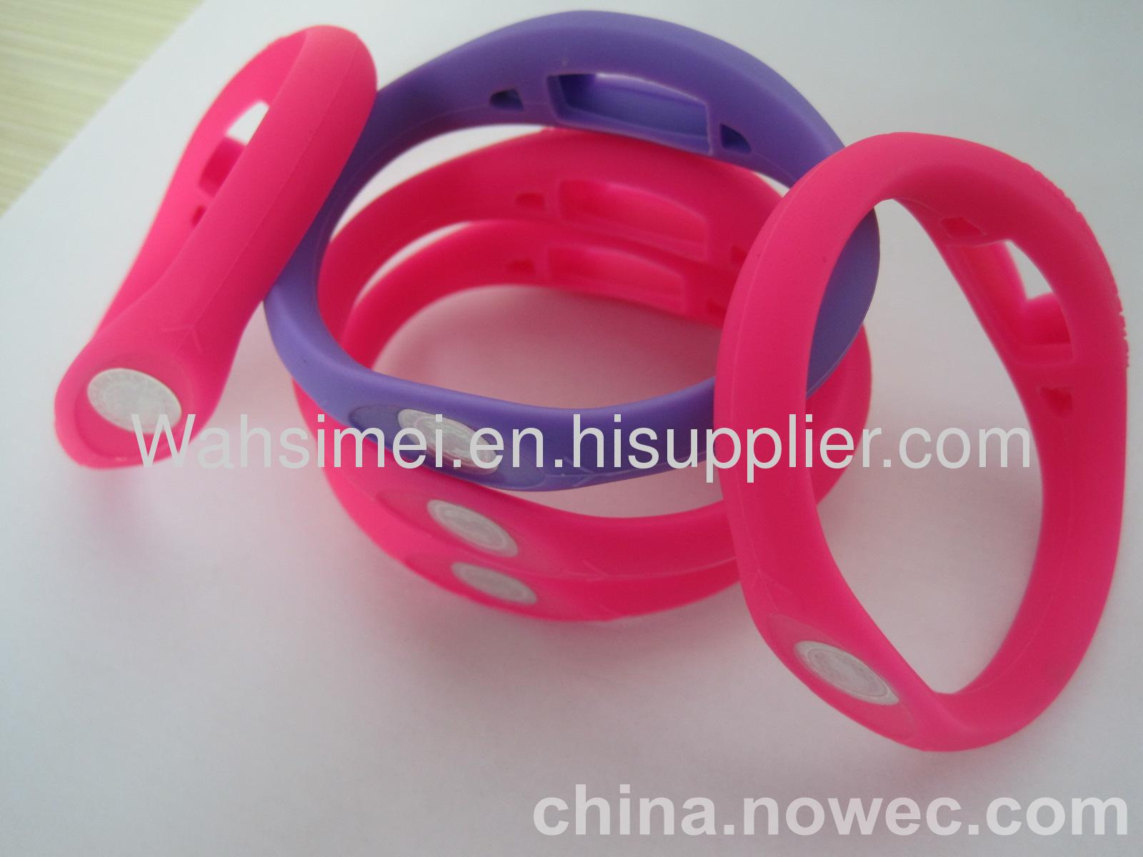 Cheaper price high quality silicone power bracelet