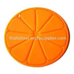 Round shape cup heat resistant silicon mats