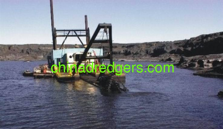 10/8 inch Cutter Suction Dredger for sand production