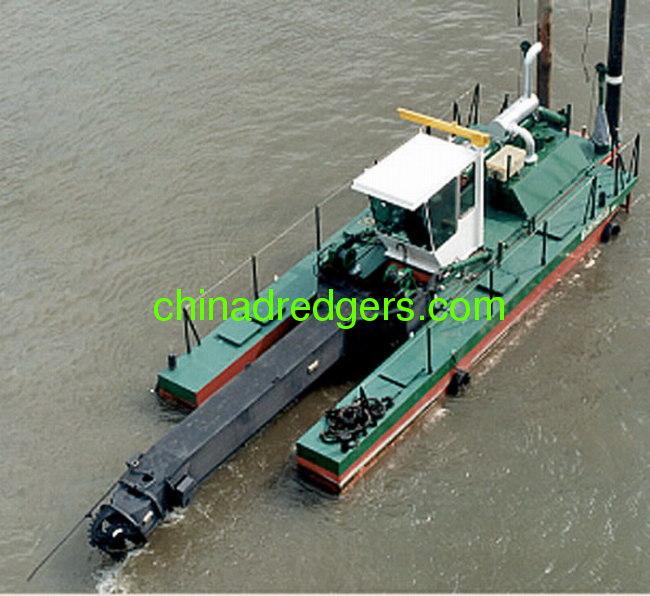 450mm cutter suction dredger