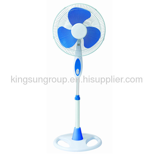 16floor fan with blue and white color