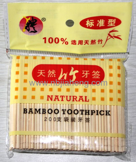 Disposable Bamboo Toothpick