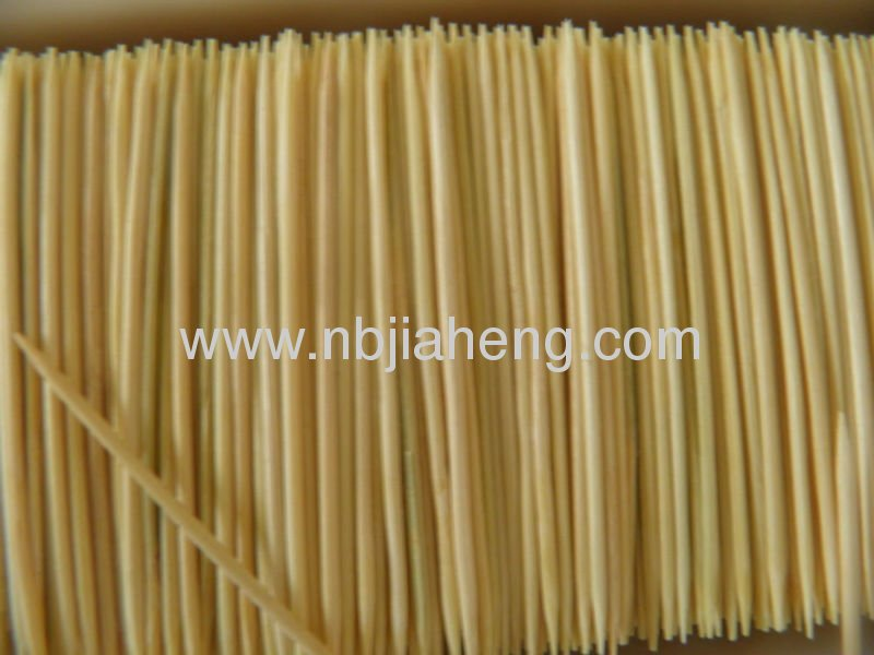 Lot of 1000 Count Round Toothpicks 100% NATURAL BAMBOO Double Point