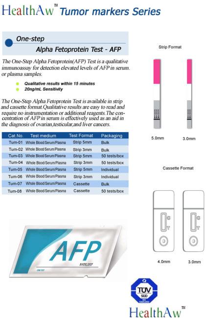 One-step Alpha Fetoprotein Test / Rapid AFP Test