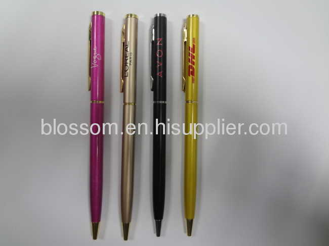 Promotional ball pen metal pen advertisement pen hotel pen