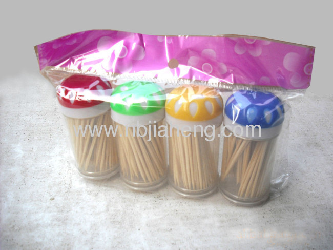 Wholesale Bamboo Toothpicks 600pcs/lots Good Quality Brand New JHS009