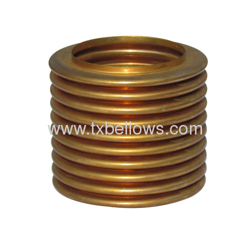 WW type U shape hydraulic forming tin phosphor bronze bellows