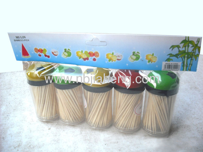 Strong bulk disposable bamboo toothpicks at a competitive price