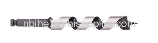 DIN3126 Quick(1/4hex) shank Woodworking auger drill bit