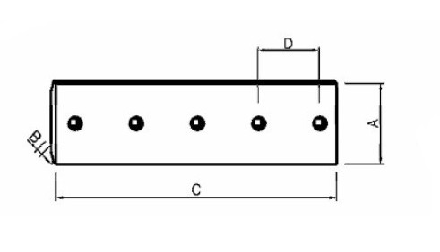 Komatsu D375a 2 Heat Treatment Dozer Cutting Edge 195 71 61550 Manufacturer From China Ningbo Yuanda Machinery Co Ltd