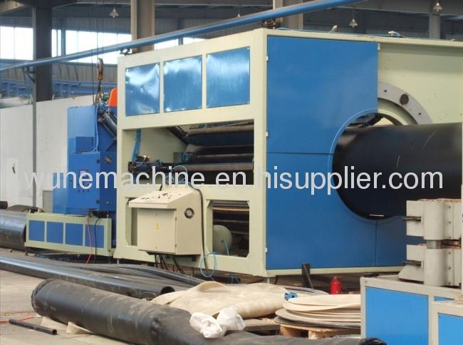 PE HDPE LDPE pipe extrusion machine