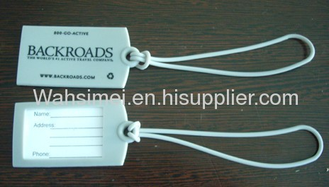 2012 Hot & Newest silicone luggage tag