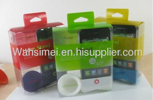 Nice best price For iphone silicon speaker