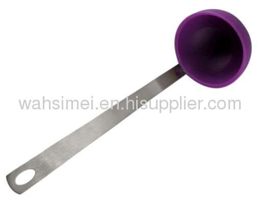 Silicon soup spoon in FDA&LFGB quality