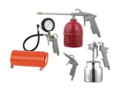 5PCS AIR TOOLKITWITH GRAVITY GUN-COLOR BOX