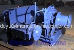 electric double gypsy mooring winch