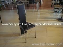 Metal chrome chair
