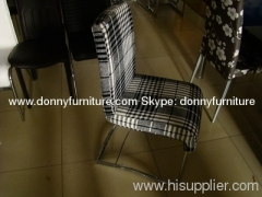 Cotton top dining chair