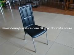 Metal chrome leg chair