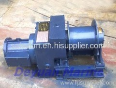 parallel styled split winch