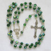 crystal birthstone rosary prayer beads