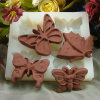 silicone rubber butterfly chocolate molds chocolate moulds chocolate mold