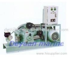 marine air cooling piston type air compressor