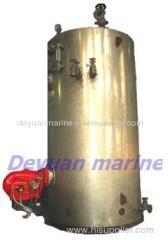 Large type marine oil-fired boiler