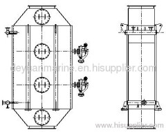 combined oil-fired exhaust-gas boiler