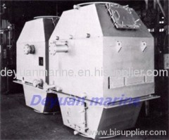 exhaust-gas economizer for marine boiler
