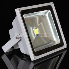 30W LED Flood light AC global voltage adaptable grey