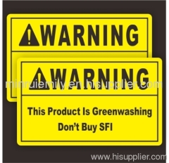 Cusotm PVC warning labels,custom pvc ESD stickers