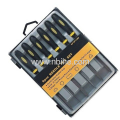 Electroplated Riffler Handle Needle Files sets