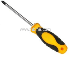 Plastic Handle Phillips CRV Screwdriver