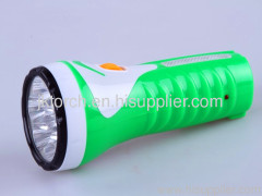 7LED rechargeable plastic torch