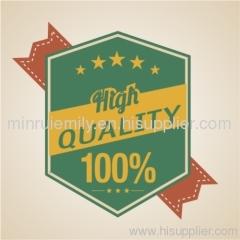 quality guarantee labels