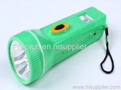 4LED high quality rechargeable plastic flashlight