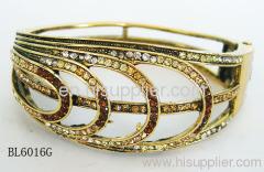 BL6016G Zinc Alloy Bangles & Bracelets