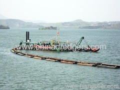 Sand digging machine cutter suction dredgers