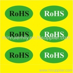 rohs stickers