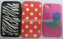 fashion silicone Stripe mobile phone covers