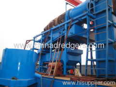 High quality small bucket chain gold dredger